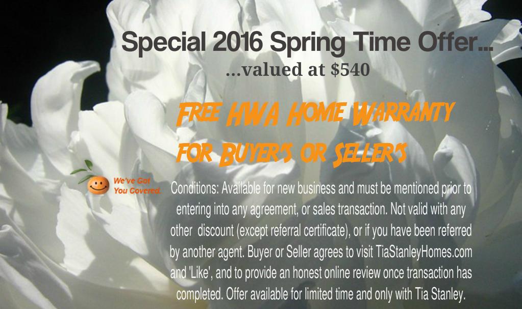Special Offer for Website Spring 2016